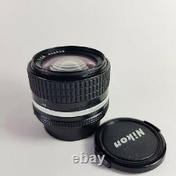 Lentille De Mise Au Point Manuelle Nikon Nikkor 28mm F/2.8 Ais En Excellent État