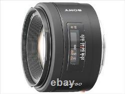Lentille Monofocus Sony 50 MM F1.4 Sal50f14 Compatible Avec Japon