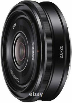 Lentille Monofocus Sony Sel20f28 E 20 MM F 2.8 Montage Sony E Pour Aps-c