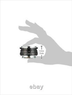 Lentille Unique Mise Au Point Voightlander Nokton Classique 40 MM F1.4 131507 Nouveau