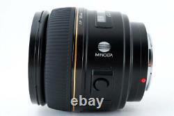 Minolta Af 85mm F1.4 G (d) Limited Objectif Téléphoto À Simple Focale 700 Limite