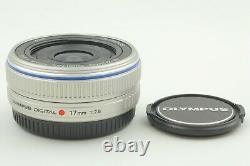 N. Menthe +++ Olympus M. Zuiko Digital 17mm F/2.8 Lentille Unique Silver Japan