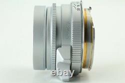 N Mint Rollei Sonnar 40mm F/2.8 Hft L39 Ltm Leica Mount Avec Adaptateur Japon