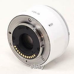 Nikon 1 Nikkor 18,5mm F/1.8 Blanc CX Format Un Seul Objectif Focal Du Japon