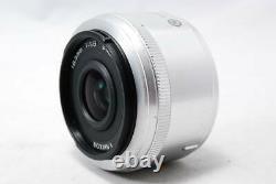 Nikon 1 Nikkor 18,5mm F/1.8 Lentille Monofocus CX Format Argent Utilisé F/s