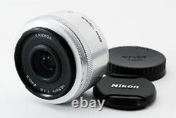 Nikon 1 Nikkor 18.5mm F/1.8 Single Focus Lens CX Format Silver Excellent #043
