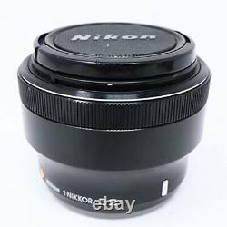 Nikon 1 Nikkor 32mm F/1.2 Black Single Focus Lens CX Format Seulement Du Japon Utilisé