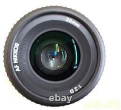Nikon Af Nikkor 35mm F/2 D Wide Angle Single Focus Lens Navire En Provenance Du Japon
