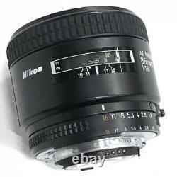 Nikon Af Nikkor 85mm F1.8 Objectif De La Caméra