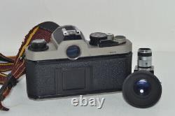 Nikon Fm2 / Caméra De Film T Nikkor-h Auto 1 2 50mm Objectif De Focalisation Unique F/s # 100272