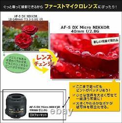 Nikon Microlens Monofocus Af-s DX Micro Nikkor 40mm F/2.8g Nikon DX Format