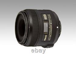 Nikon Mono Focus Microlens Af-s DX Micro 40mm F/2.8g DX Format Seulement Dhl Fast