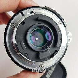Nikon Nikkor 28mm F/2.8 Ais Objectif De Mise Au Point Manuelle En Bon État