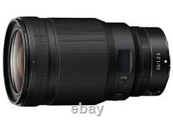 Nikon Objectif De Mise Au Point Unique Nikkor Z 50mm F / 1.2s Z Monter Pleine Grandeur S Ligne Nz50 1.2