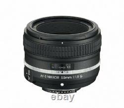 Nikon Single Focus Lens Af-s Nikkor 50mm F / 1.8g (édition Spéciale) Full Size Co
