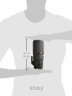 Nikon Single Focus Micro Lens Ai Af Nikkor 200mm F/4d Si Ed Prise En Charge Pleine Grandeur