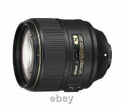 Nikon Unifocal Objectif Af-s Nikkor 105mm F / 1.4e Ed Full Size Nouveau