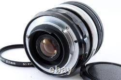 Nippon Kogaku Japon Micro-nikkor 5,5cm F3.5 F Mount Objectif Unique De La Caméra Focale