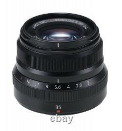 Nouveau Fujifilm Fujinon Lens Xf35mm F2r Wr B Black Japan Import Fast Shipping