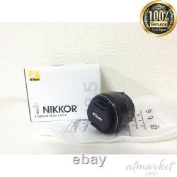 Nouveau Nikon Objectif De Mise Au Point Unique 1 Nikkor 18,5 MM F / 1,8 Format CX Noir Seulement Japon