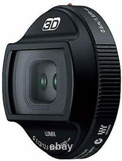 Objectif 3d Panasonic Monofocus Pour Micro Four Thirds Lumix G 12,5mm / F12 H-ft0
