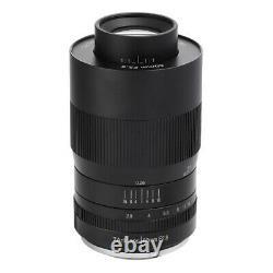 Objectif Des Caméras 60mm F2.8 Macro 7artisans Fujifilm X/objectif De Focalisation Unique