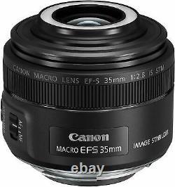 Objectif Macro Monofocus Ef-s35mm F2.8 Macro Is Stm Canon Du Japon