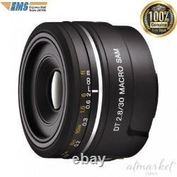 Objectif Macro Monofocus Sony Sal30m28 Dt30mm F2.8 Macro Sam Aps-c De Japan Ems