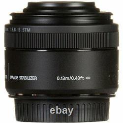 Objectif Monofocus Canon Ef-s35mm F2.8 Macro Is Stm Aps-c Compatible