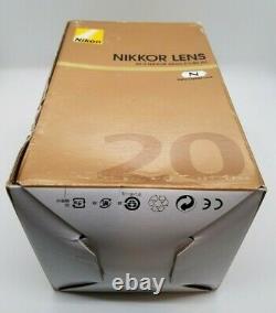 Objectif Monofocus Nikon Af-s Nikkor 20mm F / 1.8g Ed Afs20 1.8g