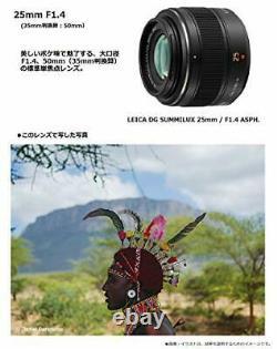 Objectif Panasonic Monofocus Micro Four Thirds Pour Leica Dg Summilux 25mm / F1.4