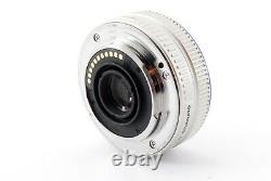 Olympus M. Zuiko Digital 17mm F/2.8 Objectif Simple Objectif Argent Exc+++ #719080a