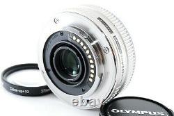Olympus M. Zuiko Digital 17mm F/2.8 Single Focus Pancake Lens Exc+++ #733420a