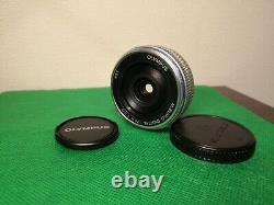 Olympus M. Zuiko Digital 17mm F/2.8 Single Focus Pancake Lens Excellent++#21078