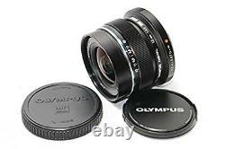 Olympus Utilisé Lentille Monofocus M. Ziko Digital Ed 12mm F2.0 Noir Du Japon