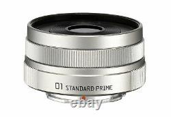Pentax 22067 01 Normal Prime Objectif Unique 8,5mm / F1.9 Silver Pentax Q10