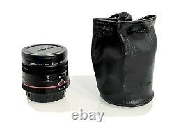 Pentax Hd Da 35mm F2.8 Macro Limited Lens Single Focus Noir