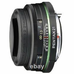 Pentax Limited Lentilles Mince Grand Angle Single Focus Lens Da21mmf3.2al Limited K M