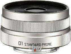 Pentax Objectif Unique 01 Standard Prime 8,5mm F/1.9 Argent