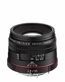 Pentax Standard Monofocus Macro Lens Hd Da 35mm F2.8 Macro Limited Japon Nouveau