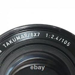 Pentax Super-multi-coated Takumar 6 × 7 F2.4 105mm Lentille Caméra Format Moyen