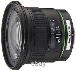 Pentax Super-wide-angle Single Focus Lens Da 14mm F2.8ed Si K Monture Aps-c Nouveau