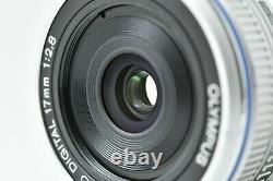 Près De Mentheolympus M. Zuiko Digital 17mm F/2.8 Pancake Monofocus Lens Withcaps