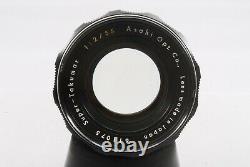 Rare Type Précoce Asahi Pentax Super-takumar 55mm F/2 M42 Objectif De Caméra #925