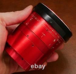 Red Isco Ultra Star Anamorphic 2x Cinemascope Lentille + Slr Magic Single Focus