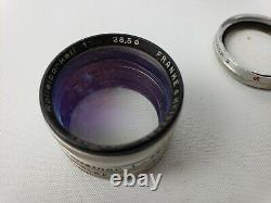 Rolleiflex Rolleiparkeil #1 Objectif De Mise Au Point Étroite Avec Filtre. Cas Simple Et Multi