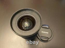 Samyang 16mm F2.0 Ed As Umc Cs Lens Pour Fujifilm X Mount