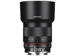 Samyang 50mm F1.2 As Umc Cs Lens Pour Canon M Black Japan Ver. Nouveau