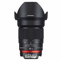 Samyang Objectif Standard Monofocus 35mm F1.4 Full Size Pour Nikon Ae Japan New