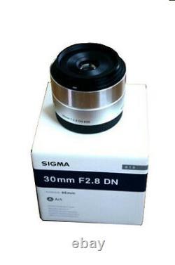 Sigma Single Focus Standard Lens Art 30mm F2.8 Dn Argent Pour Micro Four Thirds